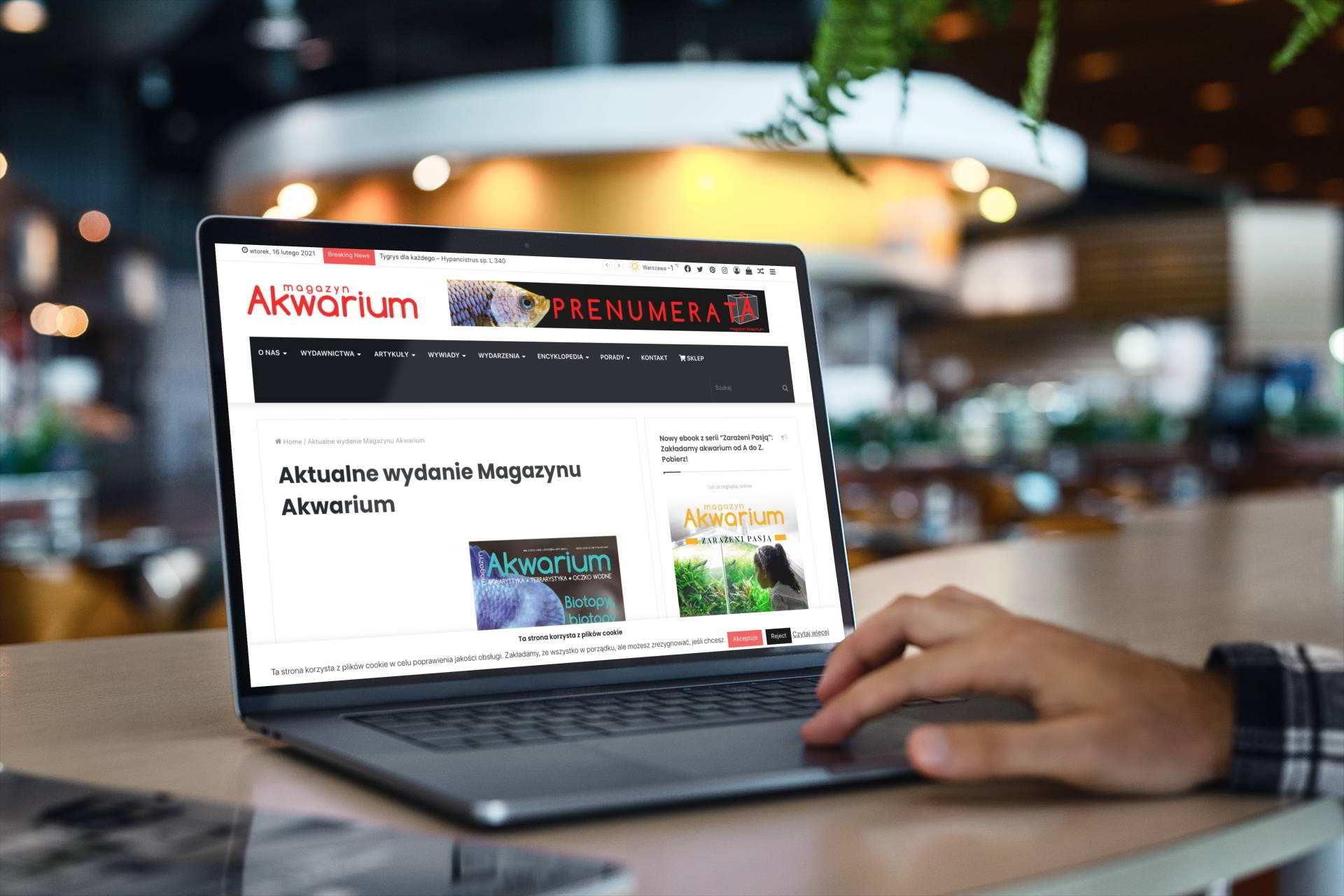 Magazyn Akwarium czasopismo online